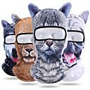 baratos Bússolas-Máscaras de Esqui / Máscara Facial Todas as Estações Pavio Humido / Á Prova-de-Pó / Respirável Ciclismo / Moto Unisexo Poliéster Animal / Com Stretch
