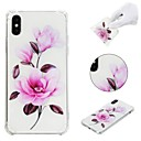 cheap iPhone Cases-Case For Apple iPhone X / iPhone 8 Plus / iPhone XS Shockproof / Pattern Back Cover Flower Soft TPU for iPhone XS / iPhone XR / iPhone XS Max