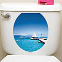 ieftine Machiaj & Îngrijire Unghii-Autocolante de Perete Decorative Autocolante toaletă - Animal Stickers de perete Animale #D Sufragerie Dormitor Baie Bucătărie Cameră de