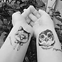 رخيصةأون حافظات / جرابات هواتف جالكسي J-10 pcs ملصقات الوشم الوشم المؤقت سلسلة الحيوانات الفنون الجسم ذراع