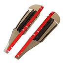 お買い得  メイク & ネイルケア-2pcs 車 車の雨の眉 ビジネス ペーストタイプ のために バックミラー 用途 ユニバーサル 全ての機種 全年式