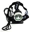 お買い得  コンパス-自転車用ヘッドライト LED 自転車用ライト サイクリング 防水, パータブル, 旅行サイズ 充電式リチウムイオン電池 / USB 300 lm 充電式 ホワイト キャンプ / ハイキング / ケイビング / サイクリング
