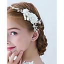 hesapli Saç Takıları-Kadın's Çiçek / Basit Saç Tarağı - Dantel / Fiyonklar, Çiçekli