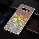 preiswerte LED-Kolbenbirnen-Hülle Für Samsung Galaxy Note 8 Beschichtung / Muster Rückseite Lace Printing Weich TPU für Note 8