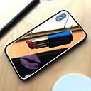 abordables Coques d'iPhone-Coque Pour Apple iPhone X / iPhone 8 Miroir Coque Couleur Pleine Dur Verre Trempé pour iPhone X / iPhone 8 Plus / iPhone 8