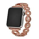 Недорогие Крепления и держатели для Apple Watch-Ремешок для часов для Apple Watch Series 4/3/2/1 Apple Современная застежка Металл Повязка на запястье