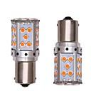 hesapli LED Şerit Işıklar-2pcs 1156 Araba / Motorsiklet Ampul 35W SMD 3030 2800lm 35 LED Dönüş Sinyali Işığı / Güzdüz Çalışma Işığı For Genel motorlar Genel