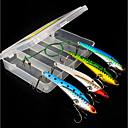 hesapli Balık Zokaları ve Sinekleri-4pcs adet Sert Balık Yemi Metal Yem Metalik Deniz Balıkçılığı / Fly Balıkçılık / Olta Yemi