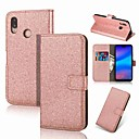 cheap Cases / Covers for Huawei-Case For Huawei P20 Pro / P20 lite Wallet / Card Holder / with Stand Full Body Cases Glitter Shine Hard PU Leather for Huawei P20 / P10 Lite / P10