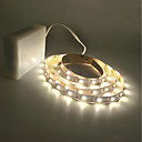abordables LED à Double Broches-ZDM® 2m Guirlandes Lumineuses 300 LED 2835 SMD Blanc Chaud / Blanc Froid Découpable / Pour Véhicules / Auto-Adhésives Piles AA alimentées 1pc