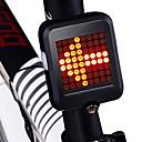 رخيصةأون اضواء الدراجة-LED اضواء الدراجة ضوء الدراجة الخلفي أضواء السلامة أضواء الذيل ركوب الدراجة ضد الماء محمول قابل للطي Li-ion 200 lm أحمر أخضر
