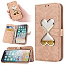 cheap iPhone Cases-Case For Apple iPhone X / iPhone XS / iPhone XR Flowing Liquid Full Body Cases Heart Hard PU Leather for iPhone XS / iPhone XR / iPhone XS Max
