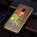 cheap Galaxy A Series Cases / Covers-Case For Samsung Galaxy A8 Plus 2018 / A8 2018 Plating / Pattern Back Cover Dandelion Soft TPU for A3(2017) / A5(2017) / A8 2018