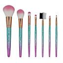 billige Headset og hovedtelefoner-Professionel Make-up pensler Brush Sets 7 stk Øko Venlig Blød Farvegradient Plastik til