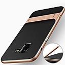 رخيصةأون إكسسوارات سامسونج-غطاء من أجل Samsung Galaxy A8 2018 / A8+ 2018 ضد الصدمات / مع حامل غطاء خلفي درع قاسي الكمبيوتر الشخصي