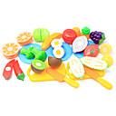 رخيصةأون نتظاهر اللعب-لعب تمثيلي مأكولات / فاكهة التفاعل بين الوالدين والطفل قذيفة البلاستيك الجميع مرحلة ما قبل المدرسة هدية 20 pcs