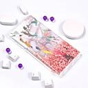 ieftine Bijuterii de Corp-Maska Pentru Sony Xperia L2 / Sony Xperia L1 Placare / IMD / Model Capac Spate Marmură Moale TPU