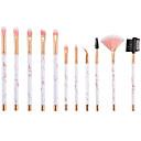 preiswerte Make-up & Nagelpflege-11pcs Makeup Bürsten Professional Bürsten-Satz- Nylonfaser Umweltfreundlich / Weich Plastik