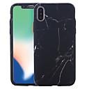 رخيصةأون أغطية أيفون-غطاء من أجل Apple iPhone X / iPhone 8 Plus / iPhone 8 نموذج غطاء كامل للجسم حجر كريم قاسي الكمبيوتر الشخصي