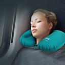 hesapli Seyahat Aksesuarları-Yastık Açık hava Taşınabilir / Hafif / Kompakt TPU / İpek / Pamuk Karışımı / Ekran Bezi 40  28 cm Seyahat Tüm Mevsimler