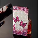 Χαμηλού Κόστους Θήκες / Καλύμματα για Nokia-tok Για Nokia Nokia 7 Plus / Nokia 6 2018 Πορτοφόλι / Θήκη καρτών / με βάση στήριξης Πλήρης Θήκη Πεταλούδα Σκληρή PU δέρμα για Nokia 7