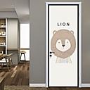 hesapli LED Bi-pin Işıklar-Dekoratif Duvar Çıkartmaları / Kapak Etiketleri - Hayvan Duvar Çıkartmaları / Tatil Duvar Sticker Hayvanlar / Yılbaşı Oturma Odası /