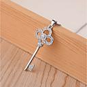 preiswerte Ohrringe-Damen Anhängerketten - versilbert Klassisch, Retro, Modisch Niedlich, Cool Silber 45 cm Modische Halsketten Schmuck 1pc Für Party, Ausgehen