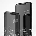رخيصةأون Xiaomi أغطية / كفرات-غطاء من أجل Xiaomi Xiaomi Mi 8 / Xiaomi Mi 8 SE مع حامل / تصفيح / مرآة غطاء كامل للجسم لون سادة قاسي جلد PU