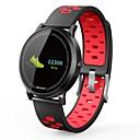 abordables Outils de cuisine-NO.1 F4S Montre Smart Watch Android iOS Bluetooth Imperméable Moniteur de Fréquence Cardiaque Mesure de la pression sanguine Ecran Tactile Calories brulées Chronomètre Podomètre Rappel d'Appel