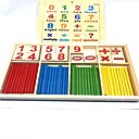 رخيصةأون اللوحي طفل-لعبة القراءة رقم مدرسة خشبي / بامبو للأطفال الطفل صبيان فتيات ألعاب هدية 2 pcs