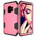 cheap Galaxy S Series Cases / Covers-Case For Samsung Galaxy S9 Plus / S9 Shockproof Full Body Cases Solid Colored Hard PC for S9 / S9 Plus / S8 Plus