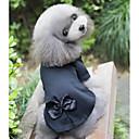 hesapli Köpek Giyim ve Aksesuarları-Kemirgenler / Köpekler / Kediler Svetşört Köpek Giyimi Solid Siyah Poli / Pamuk Karışımı Kostüm Evcil hayvanlar için Bayan Sıradan