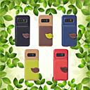 hesapli Telefon Kabloları ve Adaptörleri-Pouzdro Uyumluluk Samsung Galaxy Note 8 Cüzdan / Kart Tutucu / Satandlı Arka Kapak Solid Yumuşak TPU için Note 8