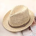 رخيصةأون أدوات الحمام-الصيف البيج كاكي قبعة الماصة ألوان متناوبة رجالي قش,أساسي عطلة