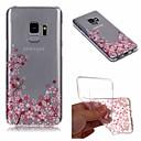 رخيصةأون حافظات التابلت-غطاء من أجل Samsung Galaxy S9 Plus / S9 IMD / شفاف / نموذج غطاء خلفي زهور ناعم TPU إلى S9 / S9 Plus / S8 Plus