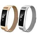 halpa Kellonrannekkeet Fitbit-Watch Band varten Fitbit Alta HR / Fitbit Alta Fitbit Milanolainen Ruostumaton teräs Rannehihna