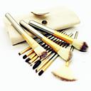 preiswerte Make-up & Nagelpflege-12 Stück Makeup Bürsten Professional Bürsten-Satz- Kunstfaser Pinsel / Nylon Pinsel Umweltfreundlich / Professionell / Weich Holz / Bambus