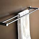 رخيصةأون أدوات الحمام-قضيب المنشفة متعددة الوظائف معاصر نحاس 1PC فردي مثبت على الحائط