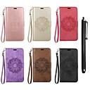 رخيصةأون LG أغطية / كفرات-غطاء من أجل LG LG K10 / LG K8 / LG K7 محفظة / حامل البطاقات / مع حامل غطاء كامل للجسم ماندالا نمط قاسي جلد PU