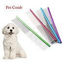baratos Acessórios & Roupas para Cachorros-Cachorros / Gatos Tosa & Penteados Pentes Portátil Vermelho / Verde / Azul