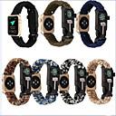 Χαμηλού Κόστους Μπρασελέ για ρολόγια Apple-Παρακολουθήστε Band για Apple Watch Series 4/3/2/1 Apple Δερμάτινη Πλέξη / DIY Εργαλεία Νάιλον Λουράκι Καρπού