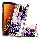 رخيصةأون حافظات / جرابات هواتف جالكسي A-غطاء من أجل Samsung Galaxy A6 (2018) / A6+ (2018) / A8 2018 شفاف / نموذج غطاء خلفي فاكهة ناعم TPU