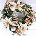 cheap Home Decoration-Garlands Holiday Plastic Round Novelty Christmas Decoration