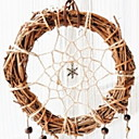 cheap Home Decoration-Christmas Ornaments Holiday Wooden Round Novelty Christmas Decoration