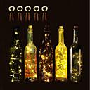 hesapli Küpeler-Brelong 10 led şarap şişesi bakır dize işıklar noel cadılar bayramı düğün parti ve iç dekorasyon 5 adet