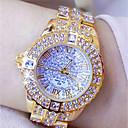 ieftine Ceasuri Damă-Pentru femei Ceasuri de lux Ceas Elegant Ceas de Mână Japoneză Quartz Argint / Auriu 30 m Creative Model nou Luminos Analog femei Lux Sclipici - Auriu Argintiu Doi ani Durată de Viaţă Baterie