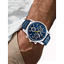 זול אביזרים ל-PS4-בגדי ריקוד גברים שעוני ספורט שעון יד שעון תעופה קווארץ דמוי עור מרופד שחור / לבן / כחול כרונוגרף יצירתי שעונים יום יומיים אנלוגי פאר אופנתי - חום כחול שחור / לבן שנה אחת חיי סוללה / SSUO 377