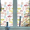 Χαμηλού Κόστους Ρούχα και αξεσουάρ για σκύλους-Window Film & αυτοκόλλητα Διακόσμηση Με Μοτίβο Φλοράλ PVC Χαριτωμένο