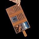 abordables Coques d'iPhone-Coque Pour Apple iPhone XR / iPhone XS Max Porte Carte / Antichoc / Clapet Coque Intégrale Couleur Pleine Dur faux cuir pour iPhone XS / iPhone XR / iPhone XS Max