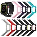 olcso iPad tokok-Nézd Band mert Apple Watch Series 4/3/2/1 Apple Sportszíj Kerámia / Szilikon Csuklópánt